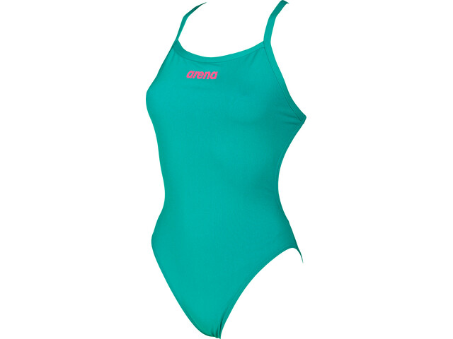 arena Solid Light Tech High Traje de baño de una pieza Mujer, persian green-aphrodite